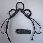 Vaulting strap with round handles DeLuxe