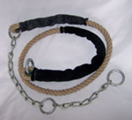 Knit strings with chains