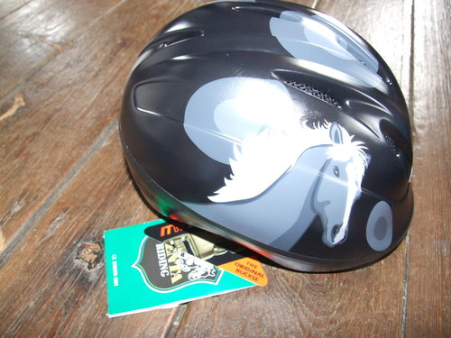 Children riding helmet