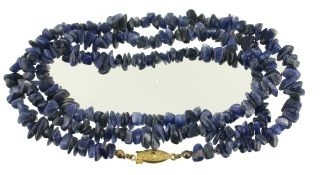 Gemstone Sodalite Necklace