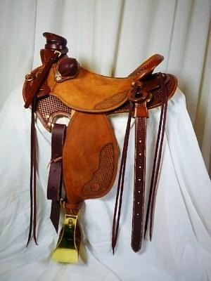 Buckaroo Western Work Saddle
